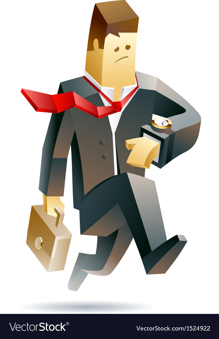 Businessman in trouble vector | Price: 3 Credit (USD $3)