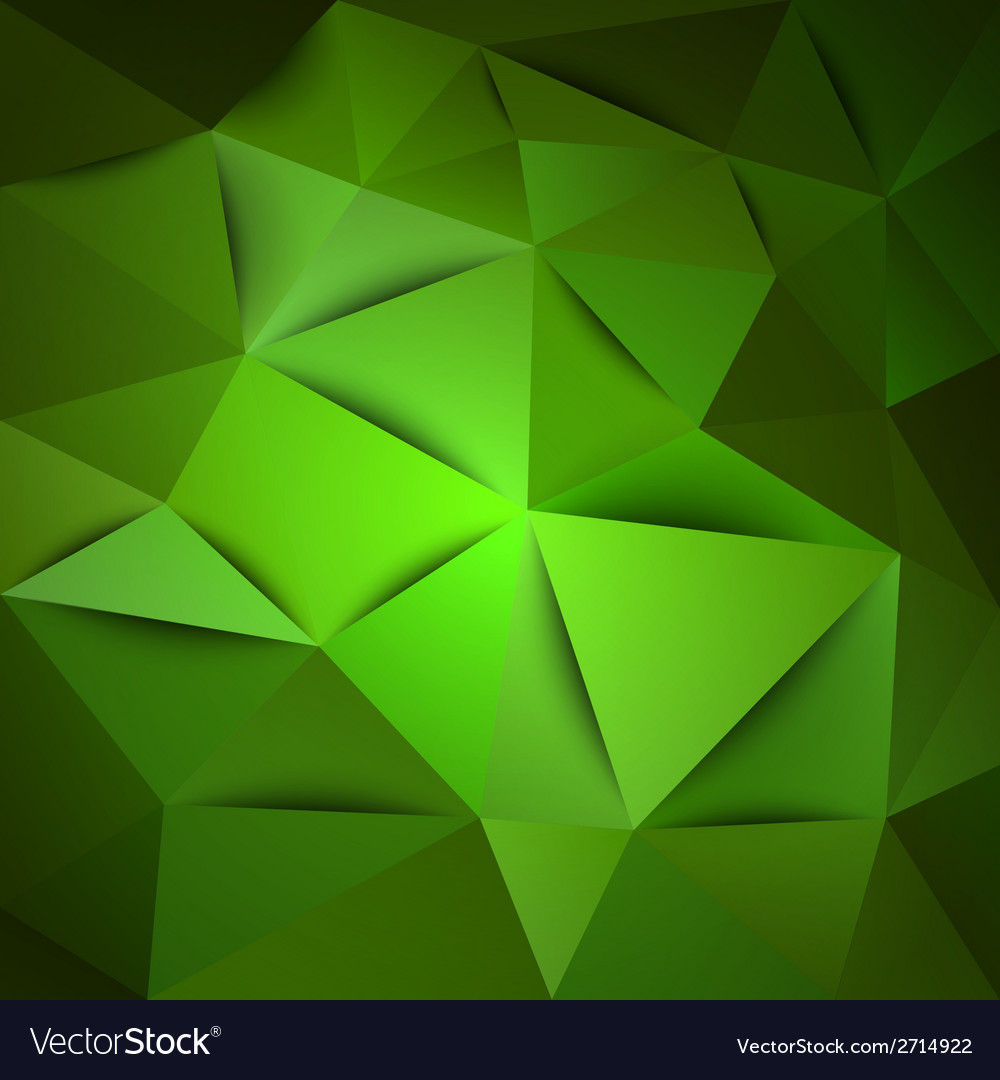 Triangles green vector | Price: 1 Credit (USD $1)