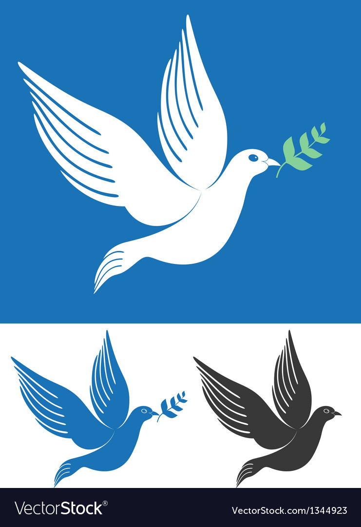 Dove vector | Price: 1 Credit (USD $1)