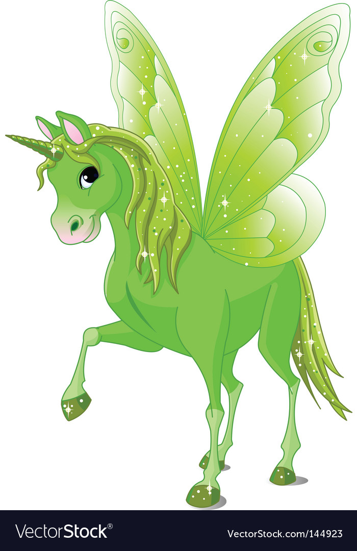 Fairy tail horse vector | Price: 3 Credit (USD $3)