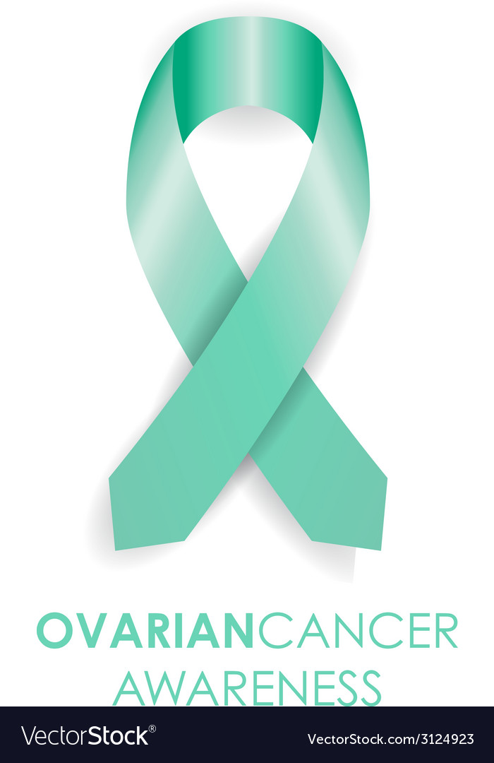 Ovarian cancer ribbon vector | Price: 1 Credit (USD $1)