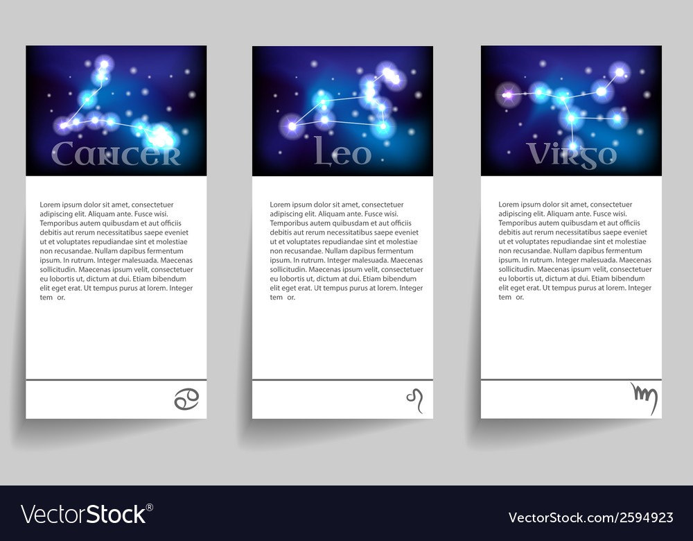 Set zodiac vector | Price: 1 Credit (USD $1)