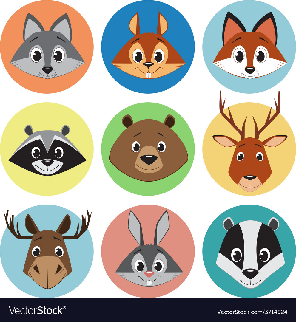 Collection of animals vector | Price: 1 Credit (USD $1)