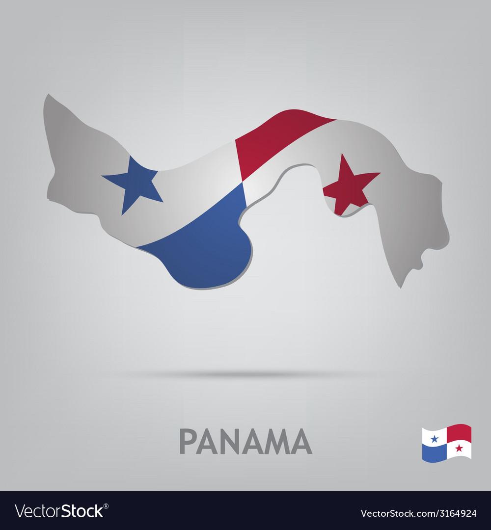 Panama vector | Price: 1 Credit (USD $1)