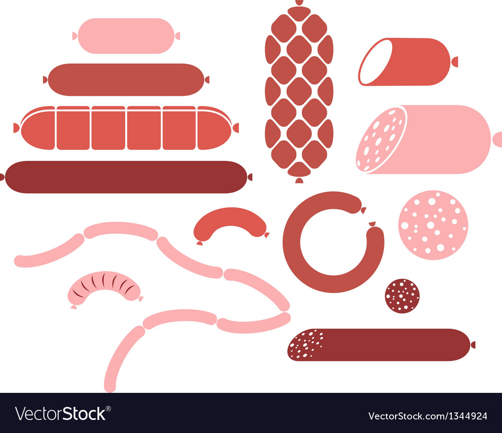 Sausage vector | Price: 1 Credit (USD $1)