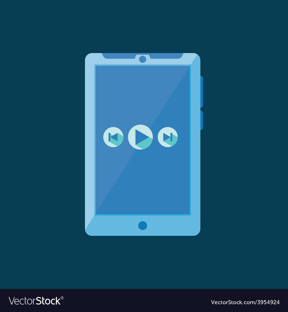 Tablet icon vector | Price: 1 Credit (USD $1)
