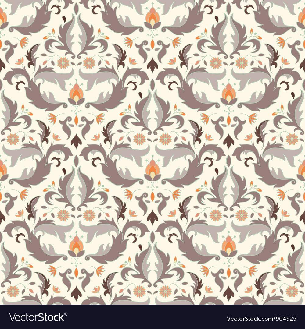 Antique seamless pattern vector | Price: 1 Credit (USD $1)