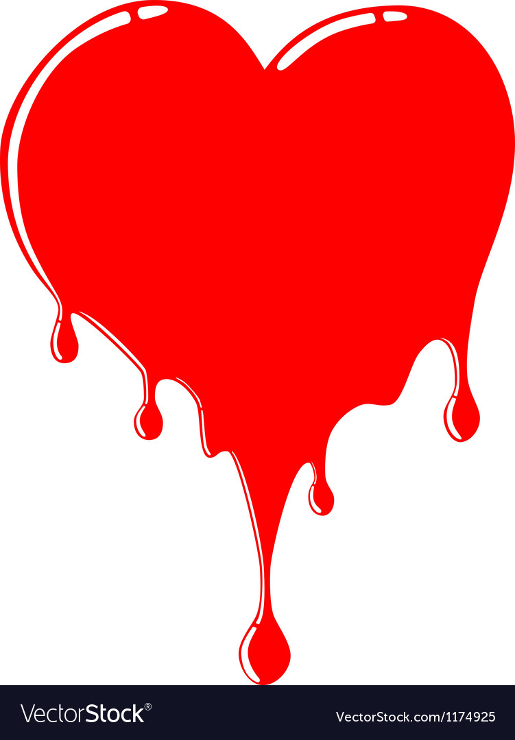 Melting heart vector | Price: 1 Credit (USD $1)