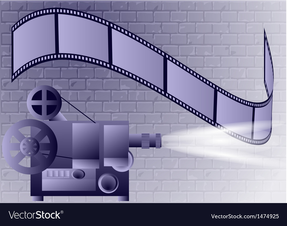 Old projector vector | Price: 1 Credit (USD $1)