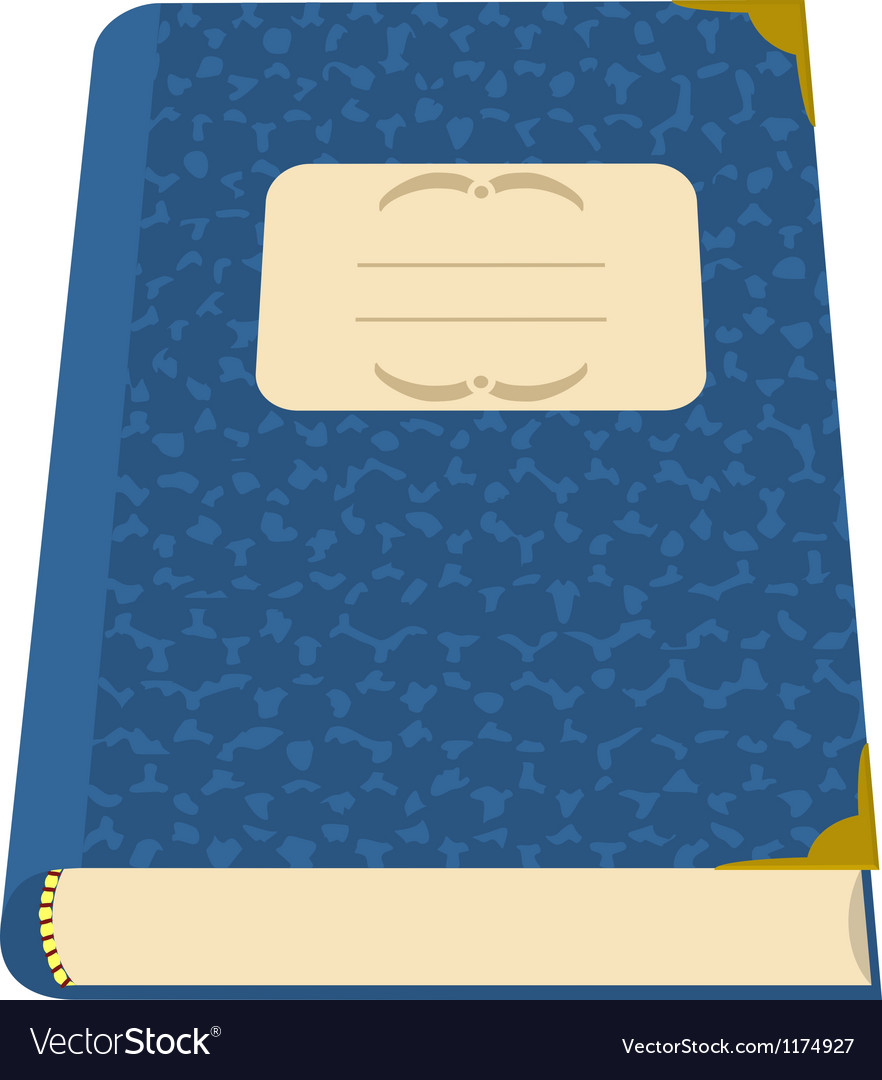 Book or a notebook vector | Price: 1 Credit (USD $1)