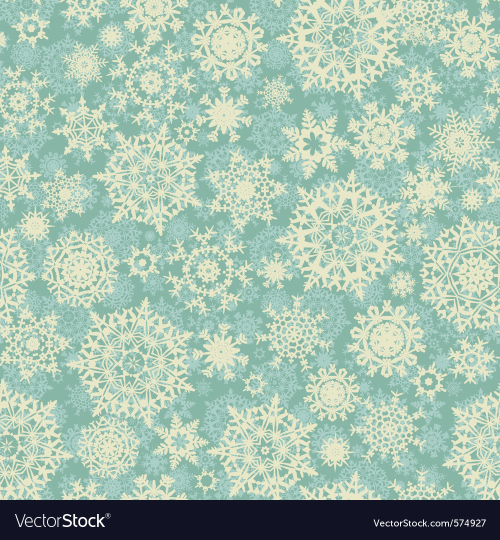 Christmas snowflake background pattern vector | Price: 1 Credit (USD $1)