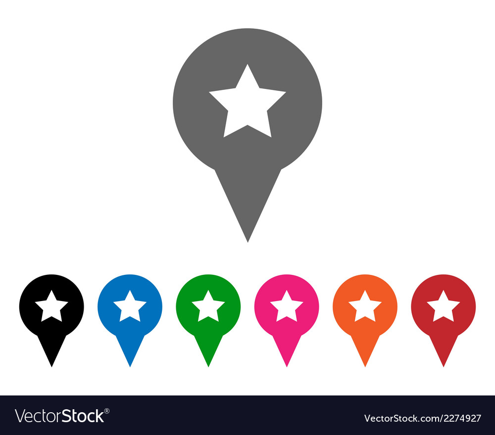 Star pointers vector | Price: 1 Credit (USD $1)
