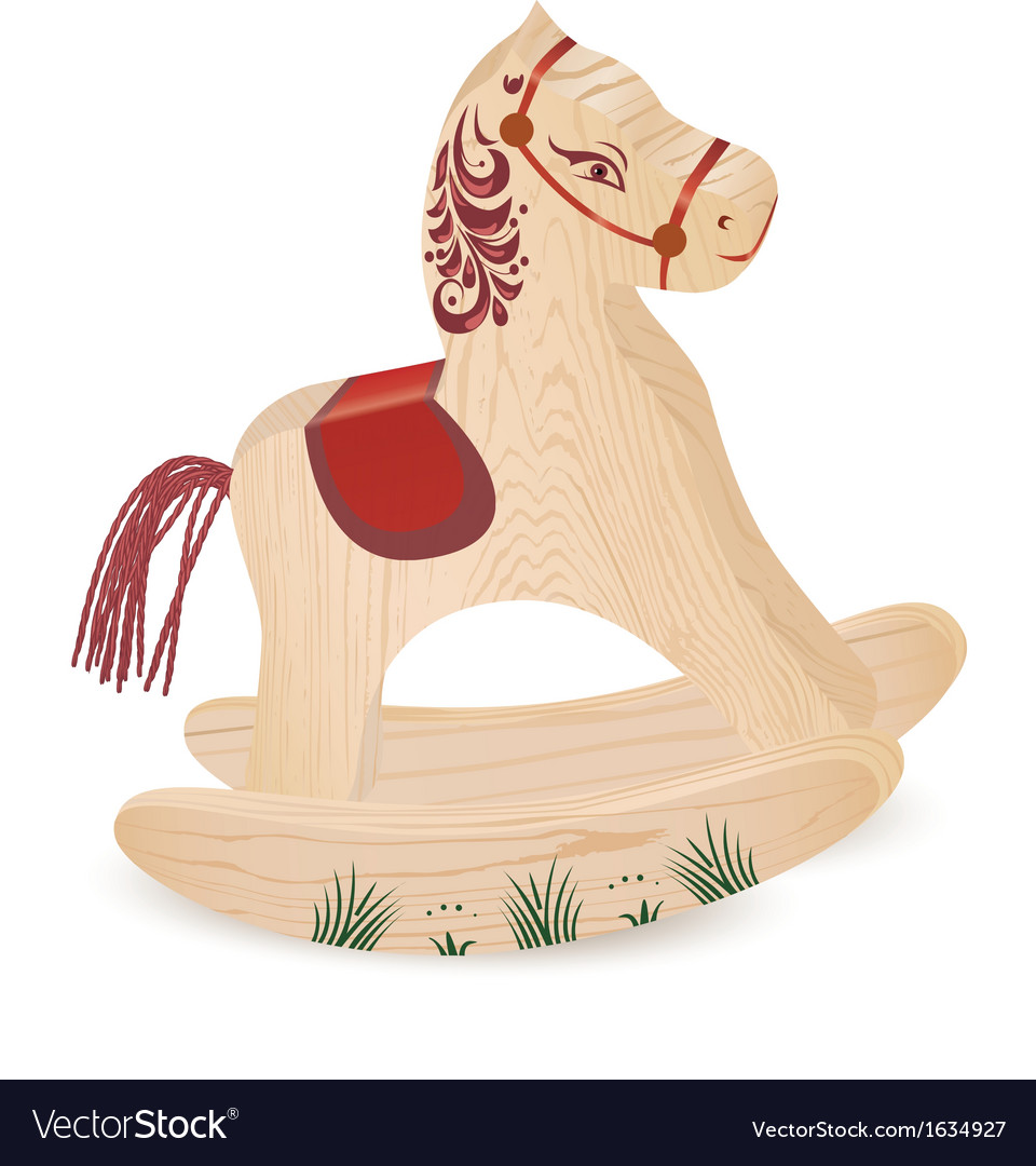 Wood horsen vector | Price: 1 Credit (USD $1)