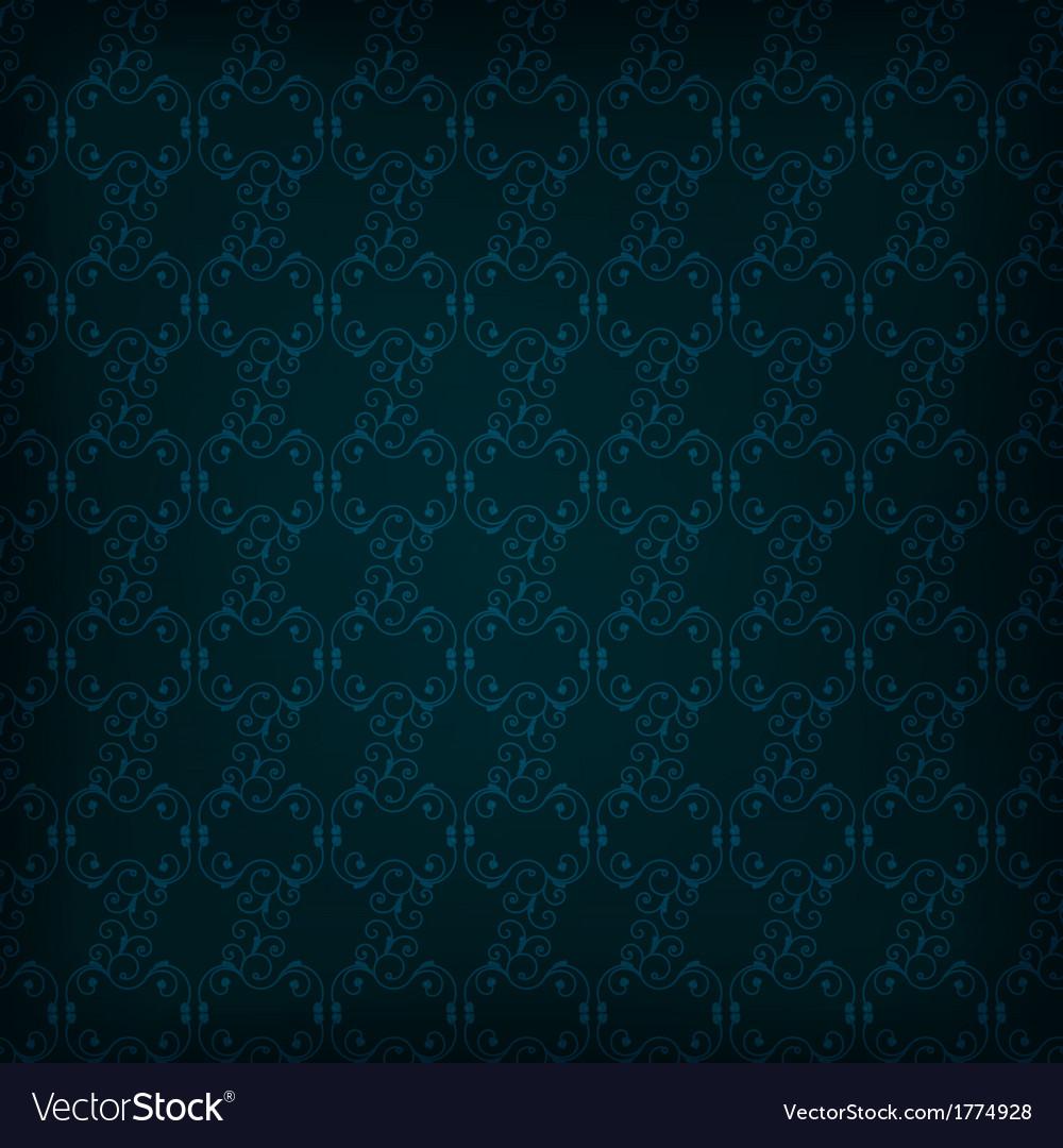 Abstract seamless dark wallpaper vector | Price: 1 Credit (USD $1)