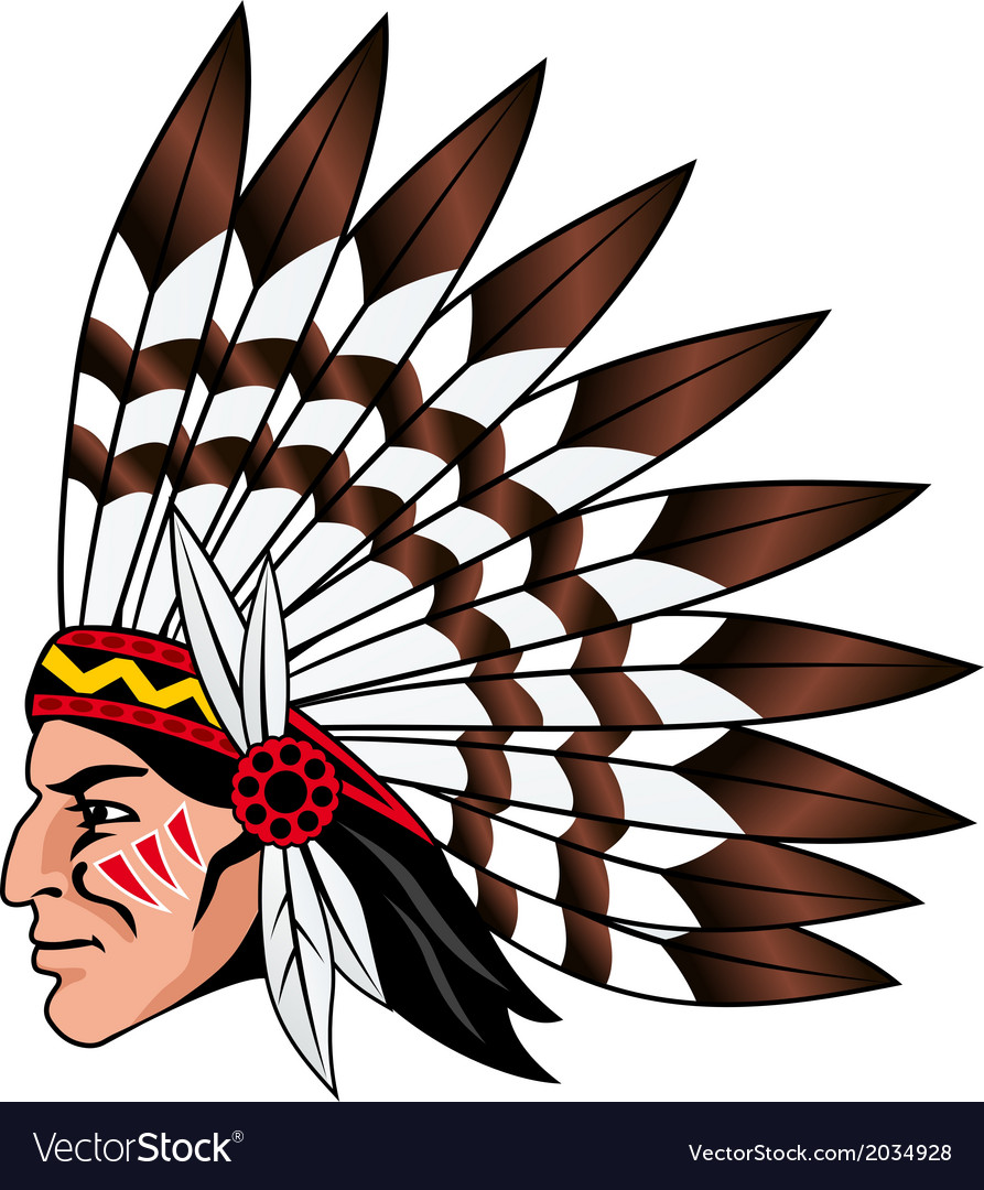 Native american people vector | Price: 1 Credit (USD $1)