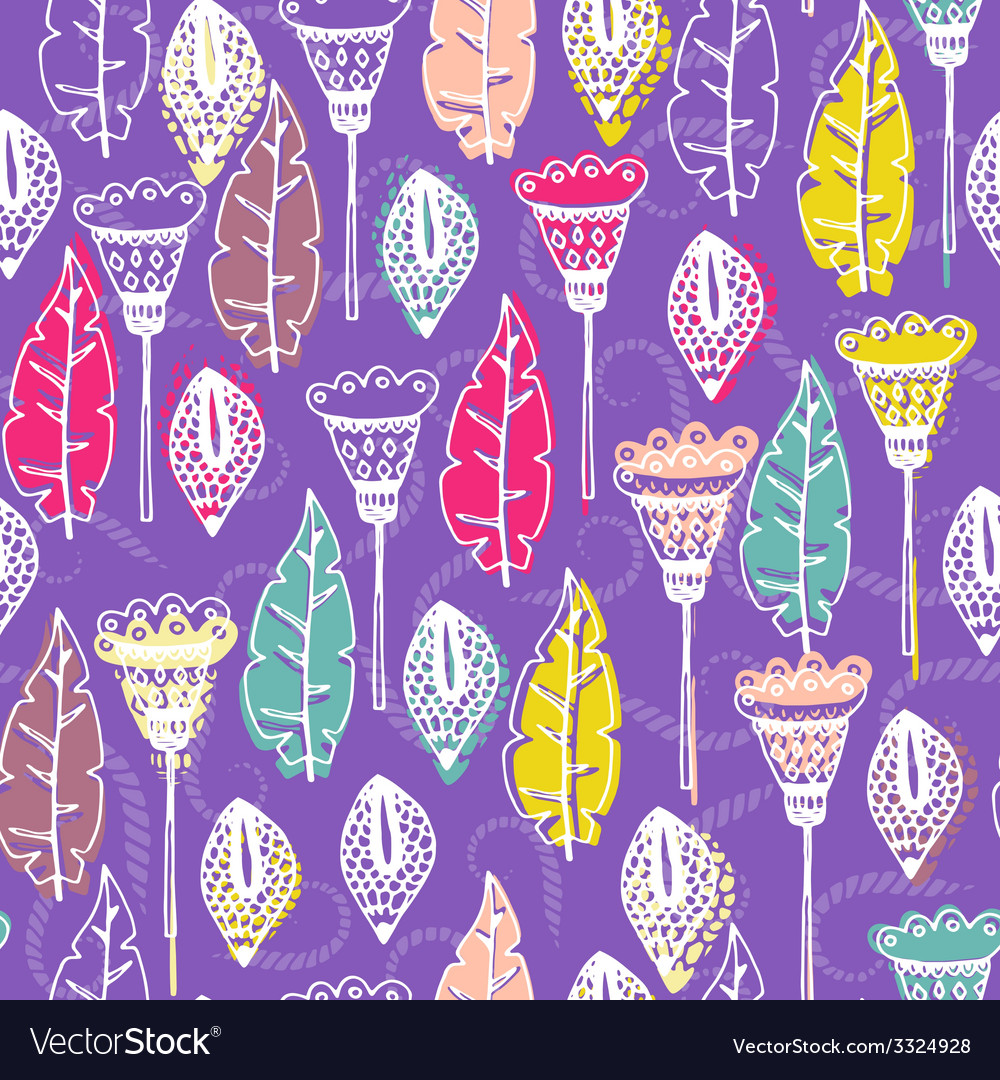 Natural seamless pattern vector | Price: 1 Credit (USD $1)