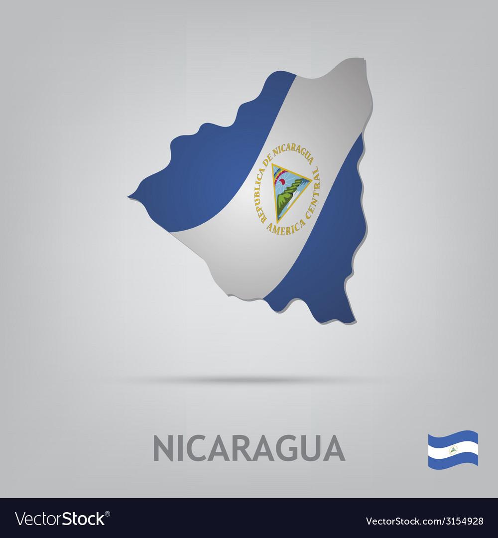 Nicaragua vector | Price: 1 Credit (USD $1)