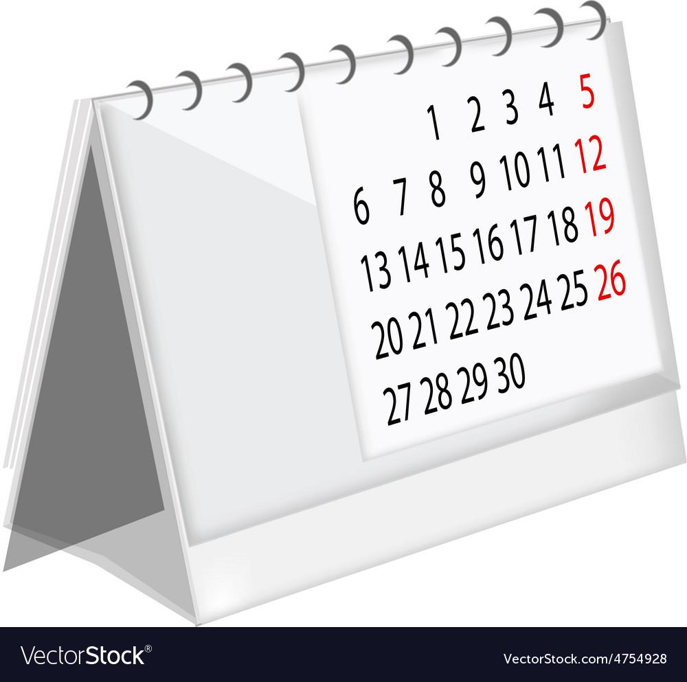Table calendar vector   Price: 1 Credit (USD $1)