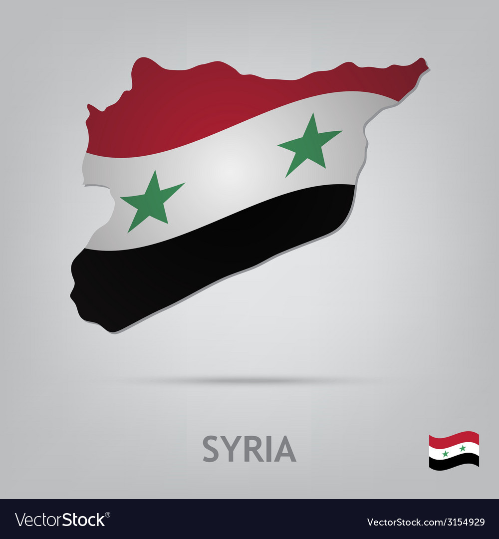 Country syria vector | Price: 1 Credit (USD $1)