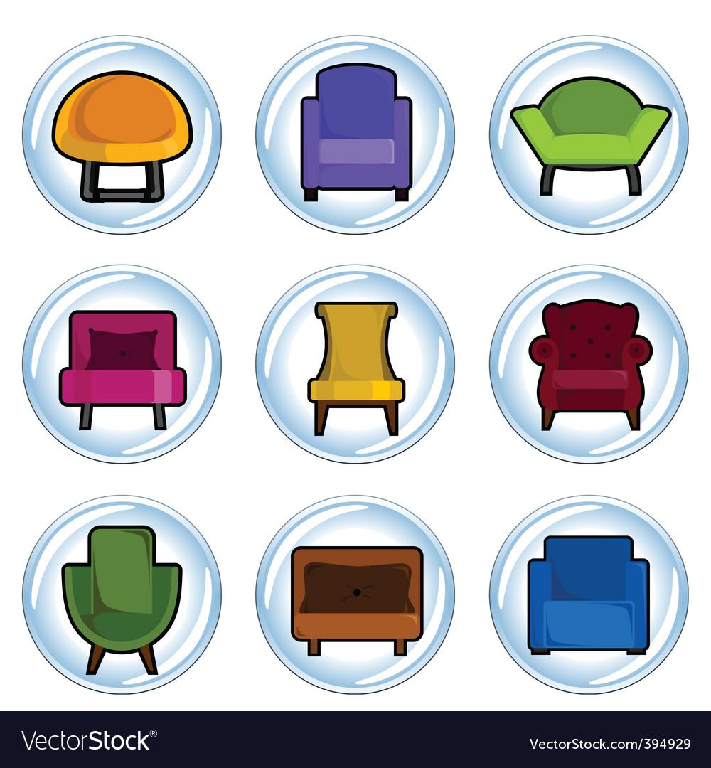 Furniture icon vector   Price: 1 Credit (USD $1)