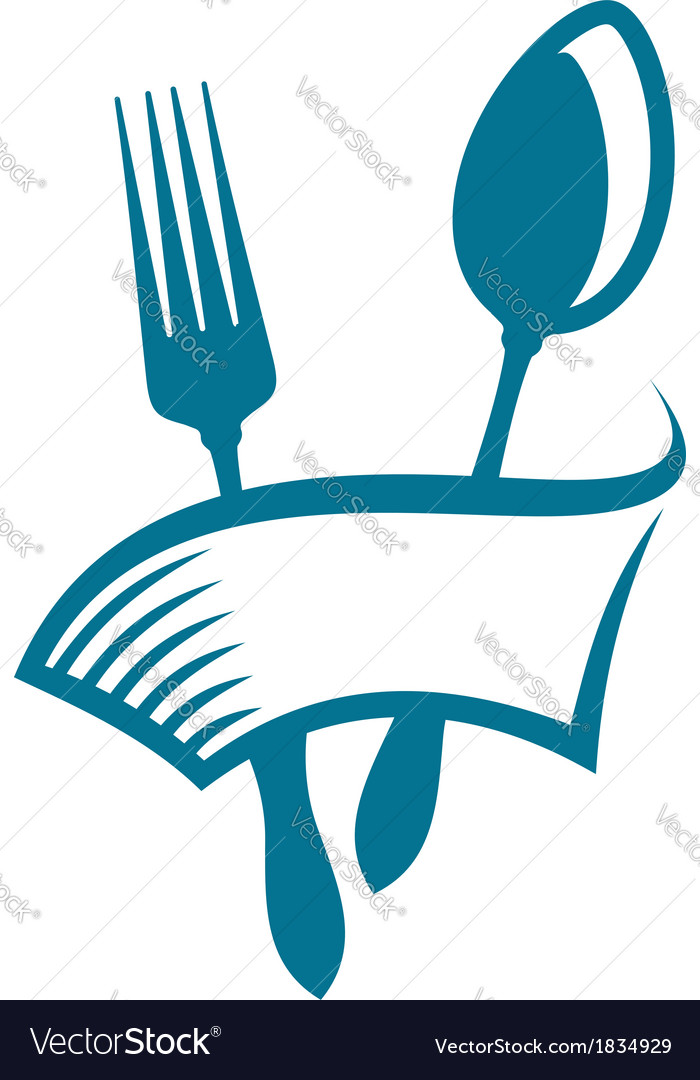 Restaurant or eatery icon vector | Price: 1 Credit (USD $1)