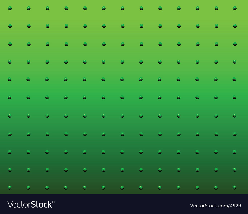 Rivet green vector | Price: 1 Credit (USD $1)