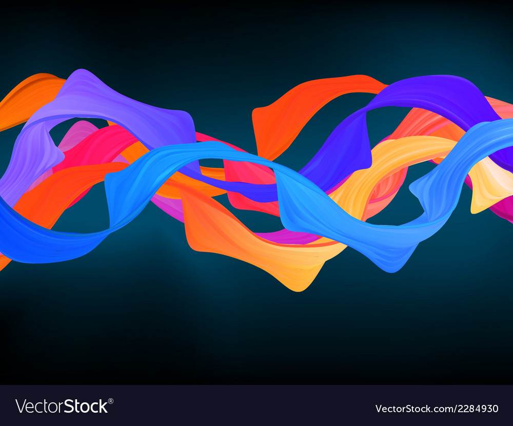 Dark colorful abstract background eps 8 vector | Price: 1 Credit (USD $1)