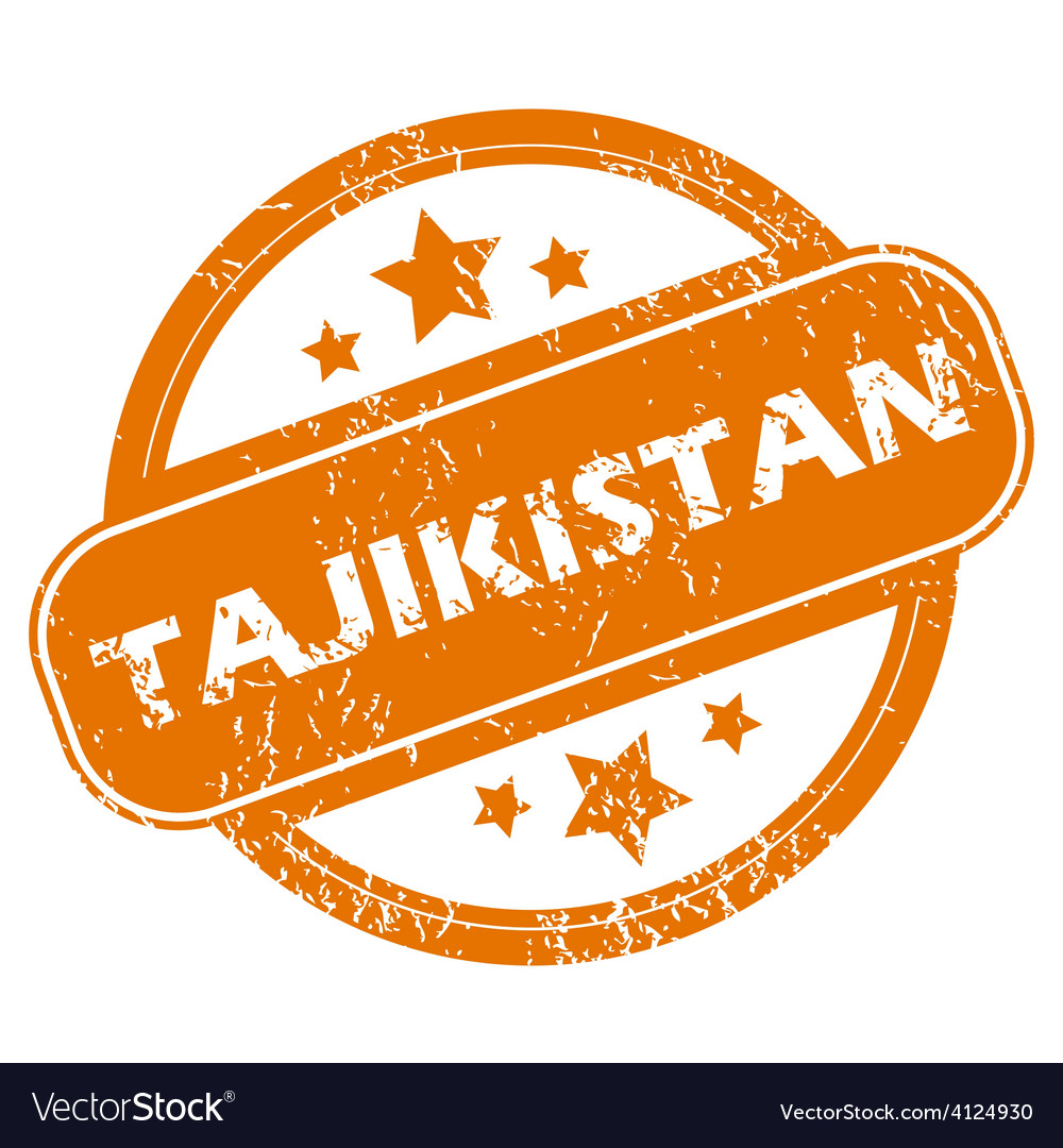 Tajikistan grunge icon vector | Price: 1 Credit (USD $1)