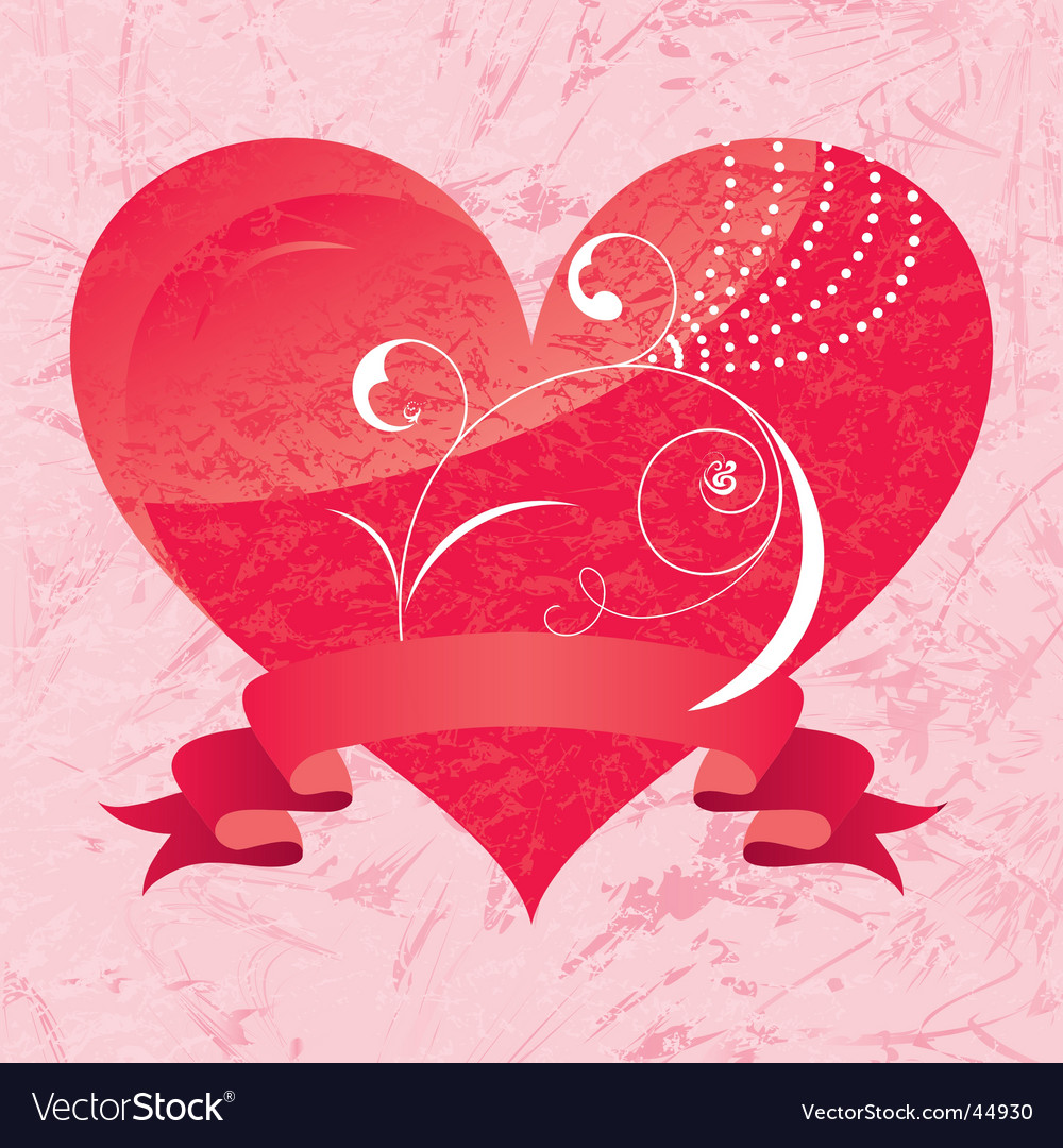 Valentine's day card. vector | Price: 1 Credit (USD $1)