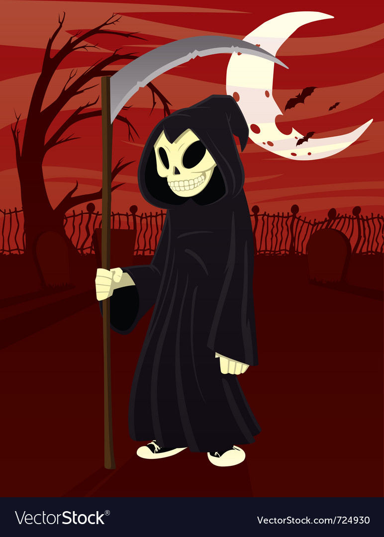 Young grim reaper vector | Price: 3 Credit (USD $3)