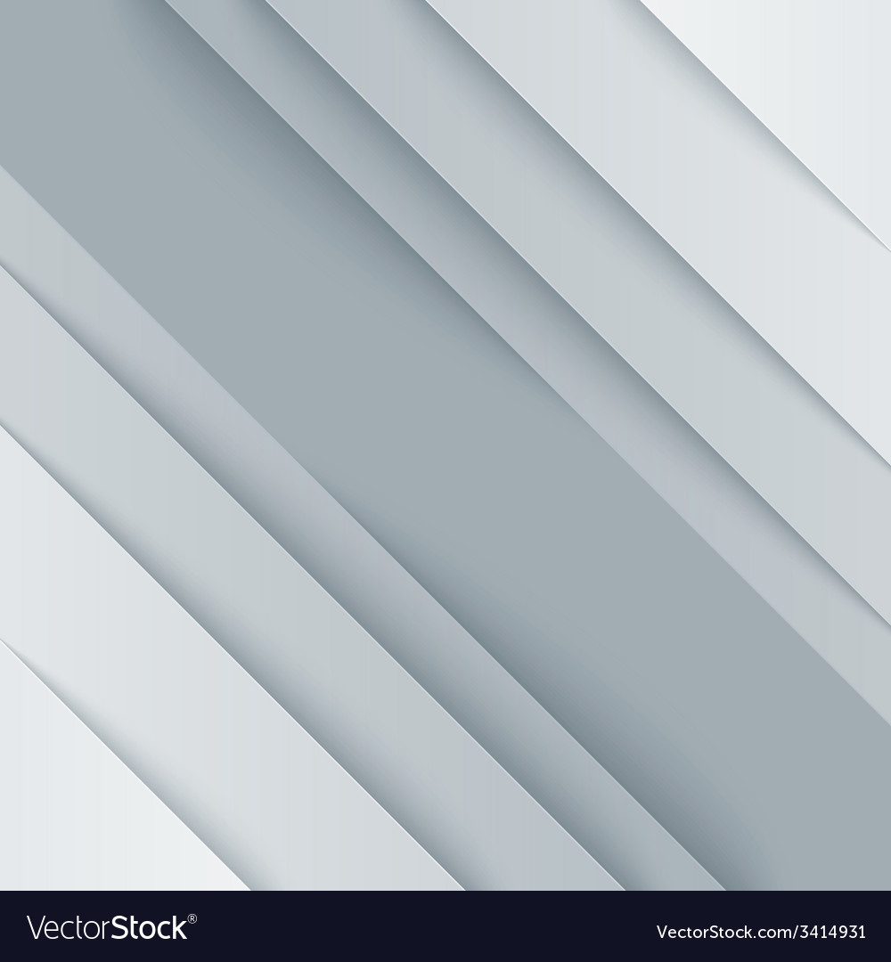 Abstract gray and white paper triangle shapes vector | Price: 1 Credit (USD $1)