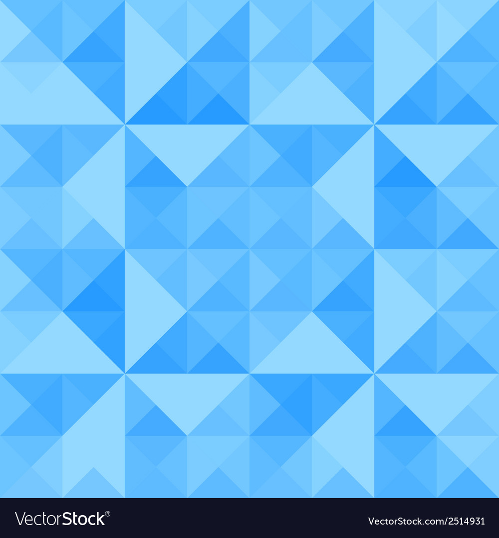 Blue triangle background5 vector | Price: 1 Credit (USD $1)
