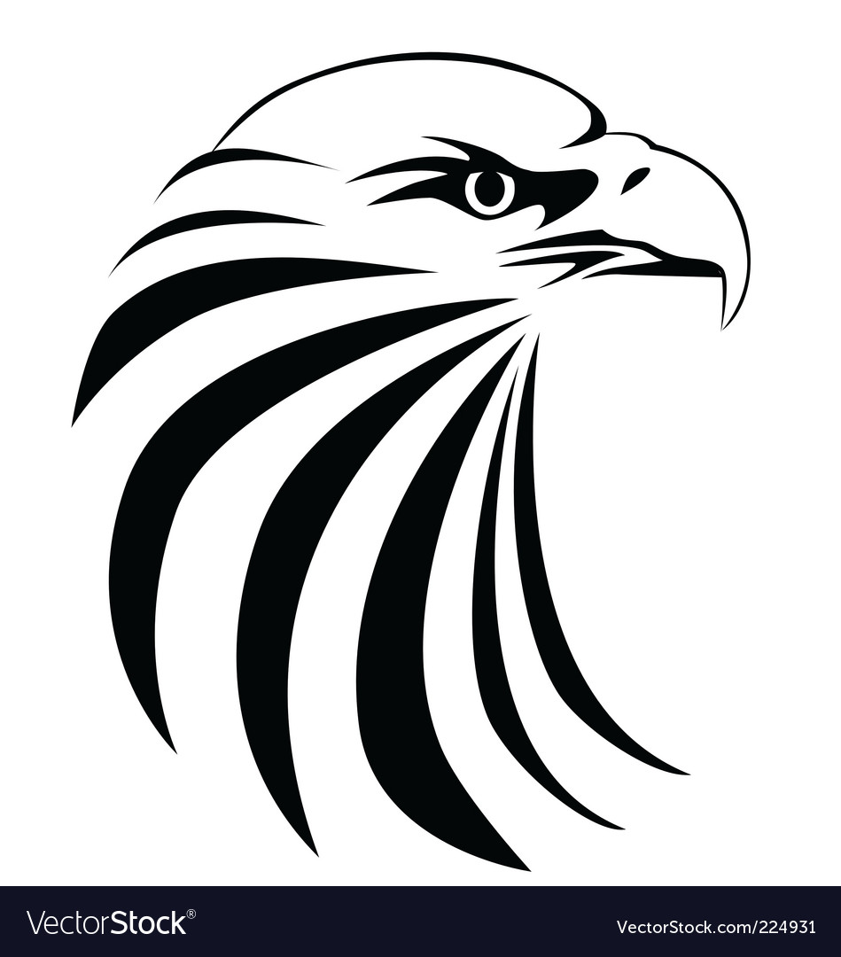 Eagle head vector | Price: 1 Credit (USD $1)