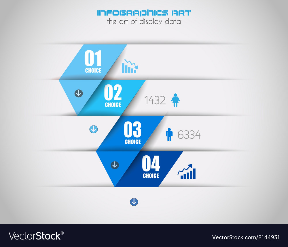 Infographics background to display your data vector | Price: 1 Credit (USD $1)