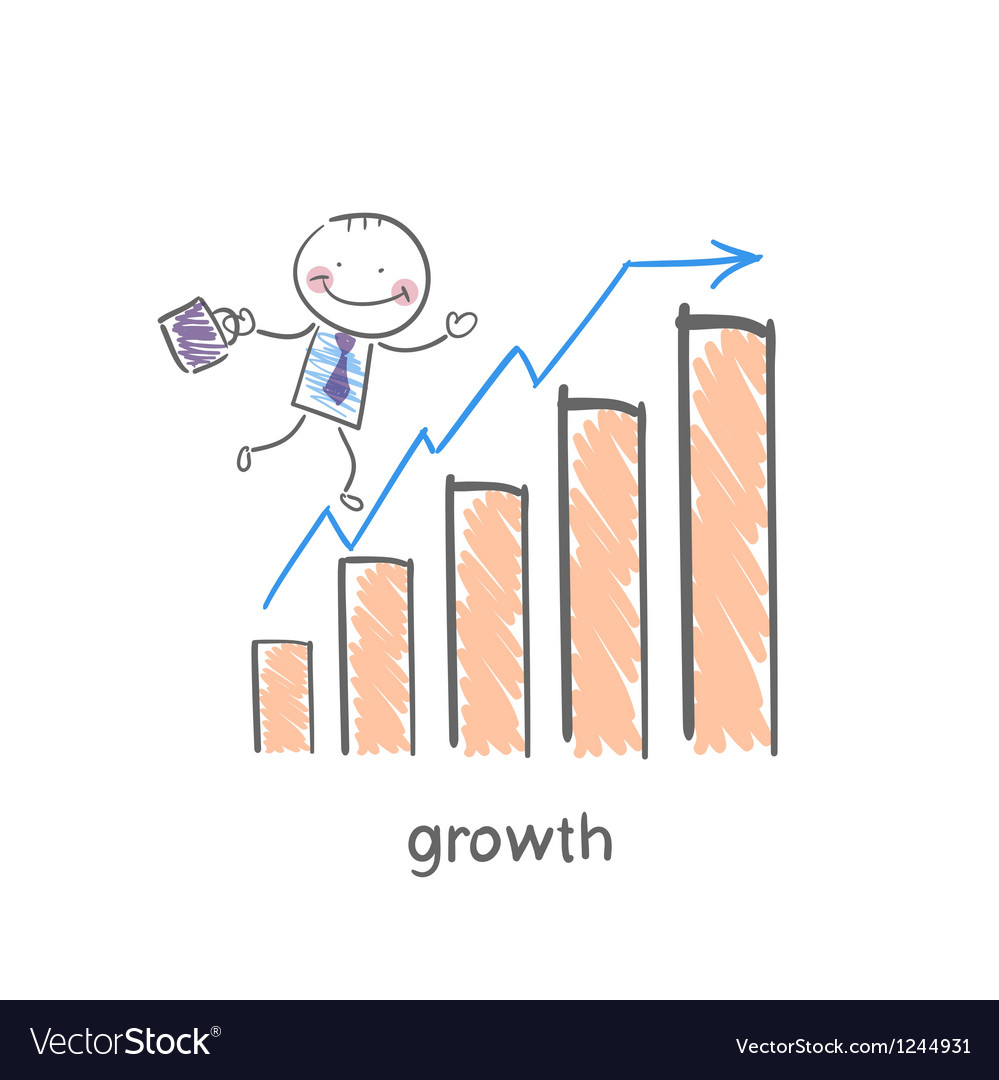 Schedule of profit growth vector | Price: 1 Credit (USD $1)