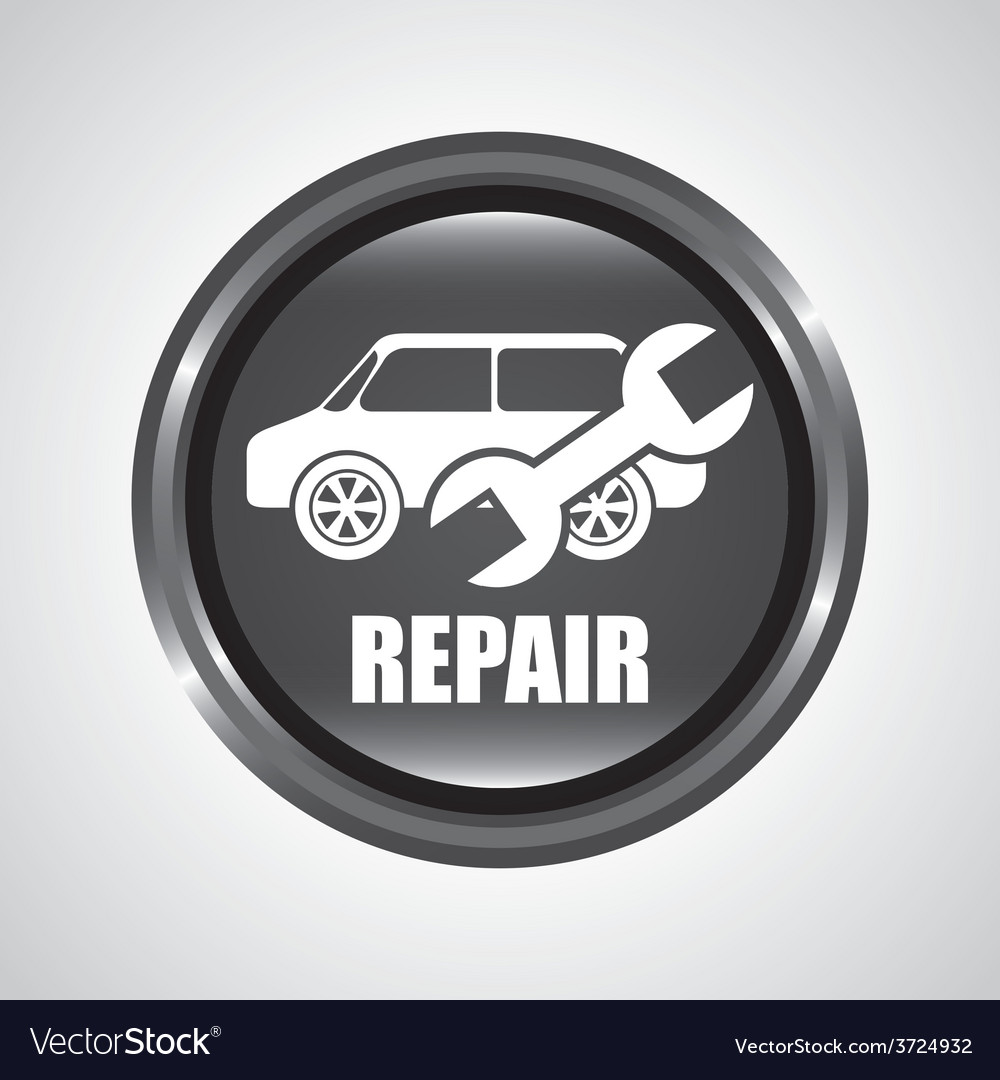 Car repair service vector | Price: 1 Credit (USD $1)