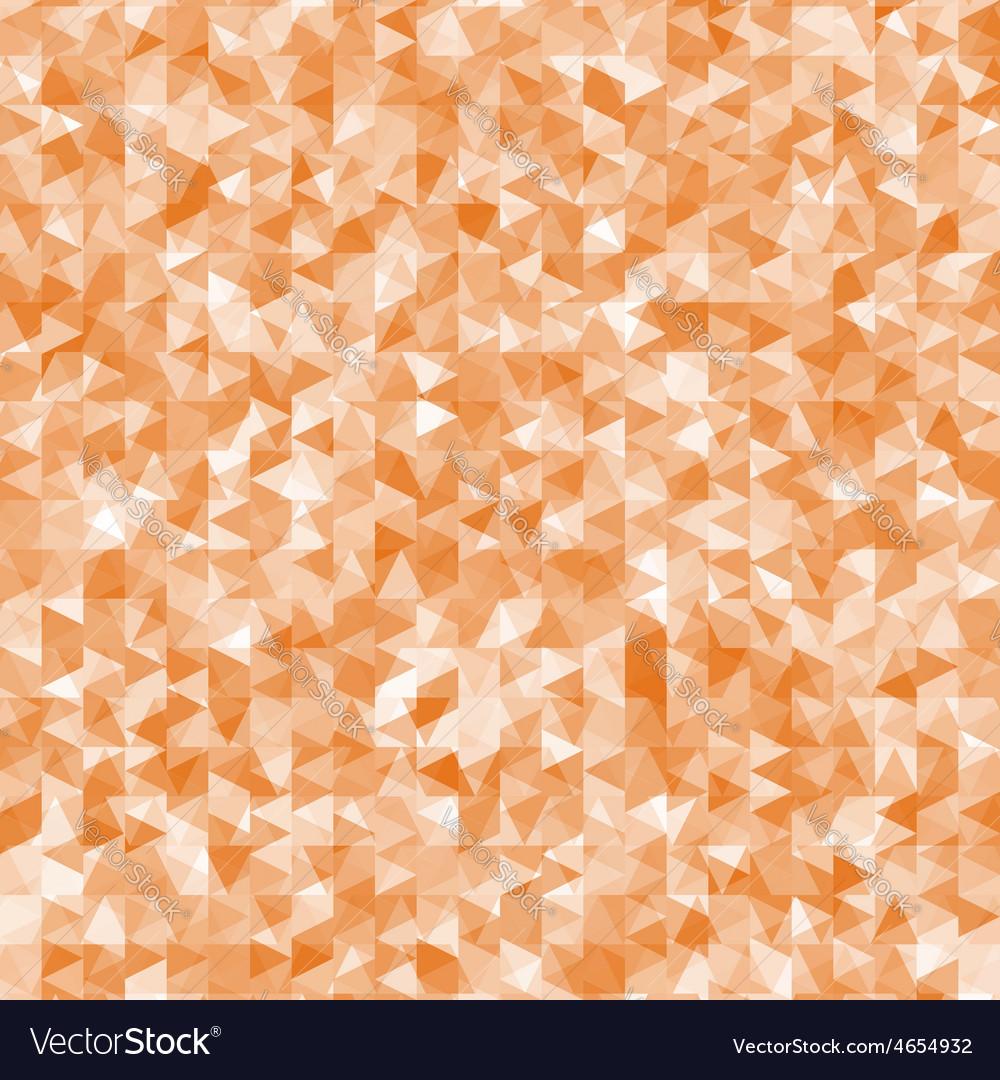 Geometric mess of orange triangles elements vector | Price: 1 Credit (USD $1)