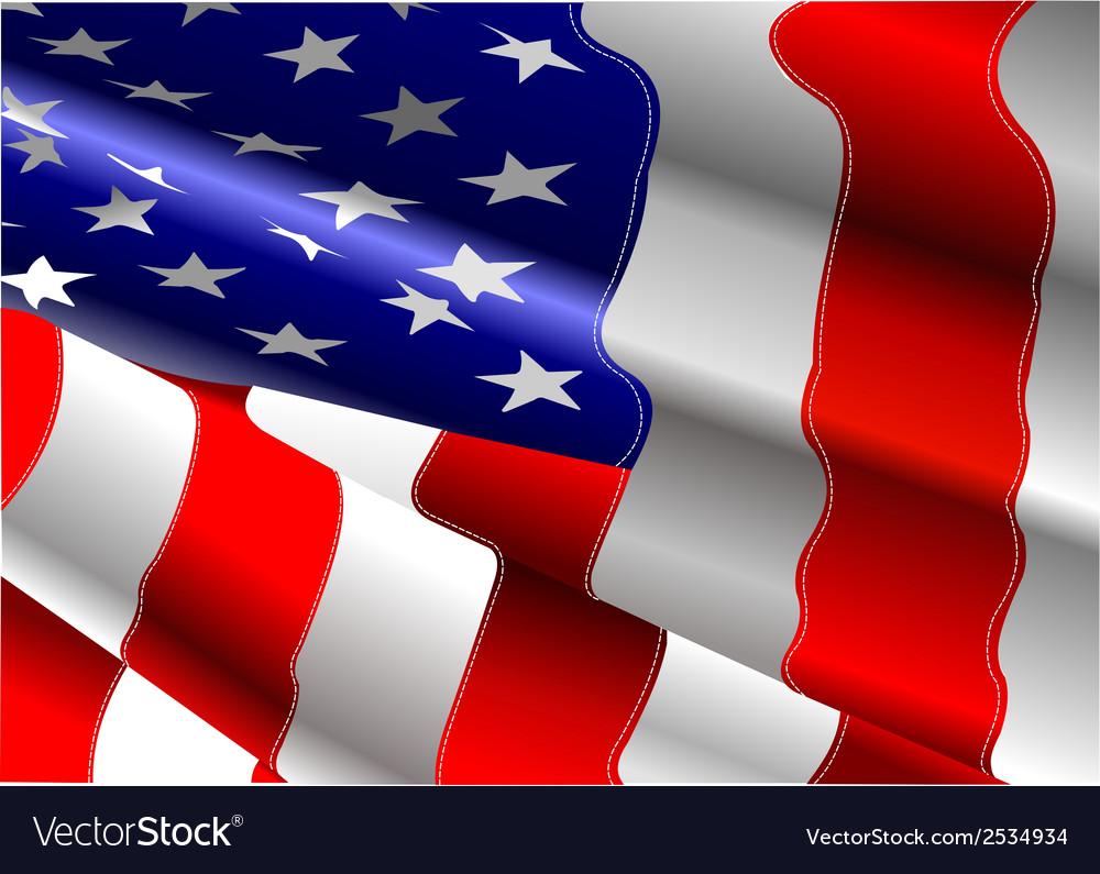 Al 0702 american flag vector