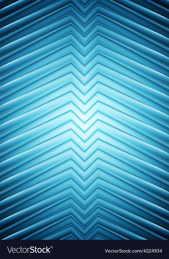 Big blue smooth arrows design vector | Price: 1 Credit (USD $1)