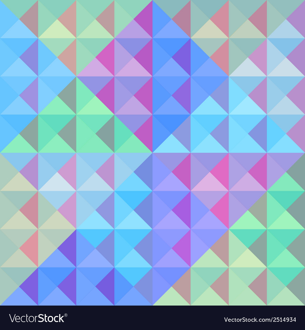 Colorful triangle background1 vector | Price: 1 Credit (USD $1)
