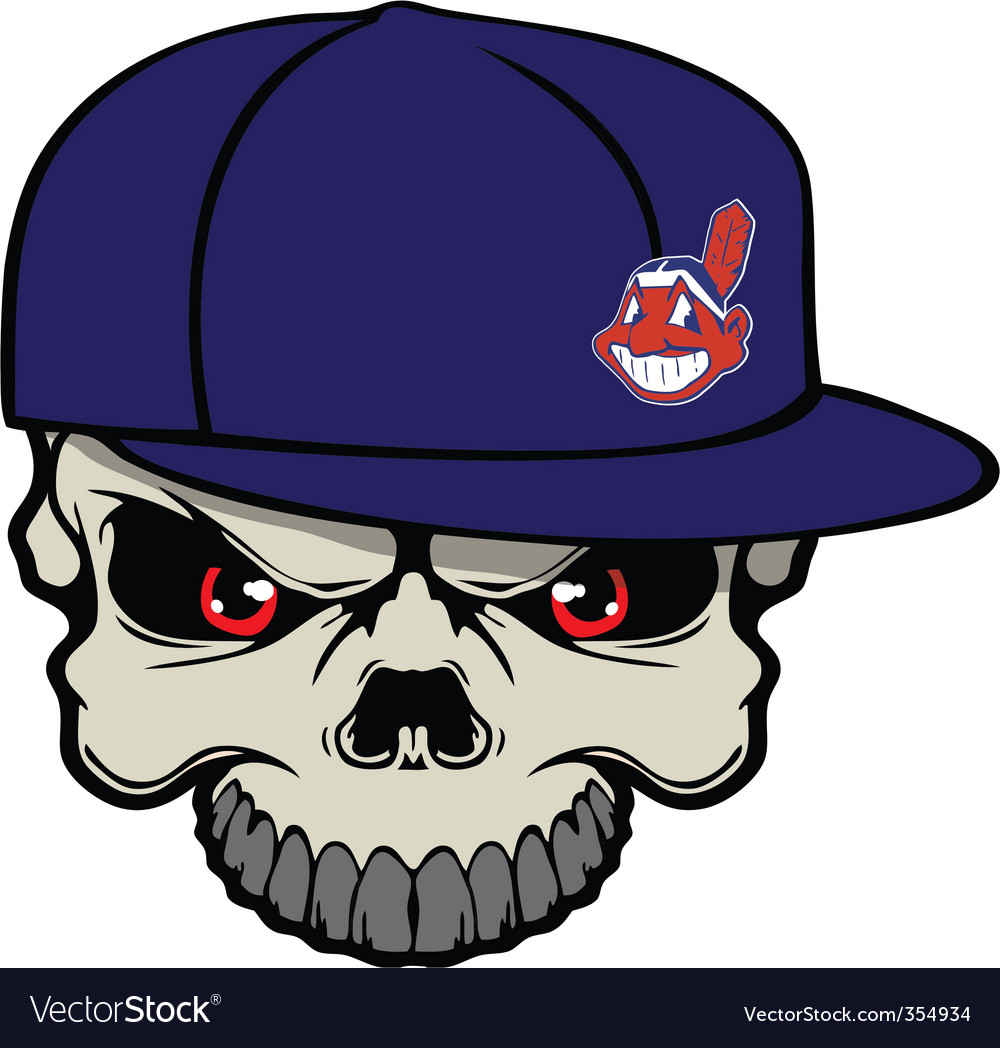 Indians skull vector | Price: 1 Credit (USD $1)