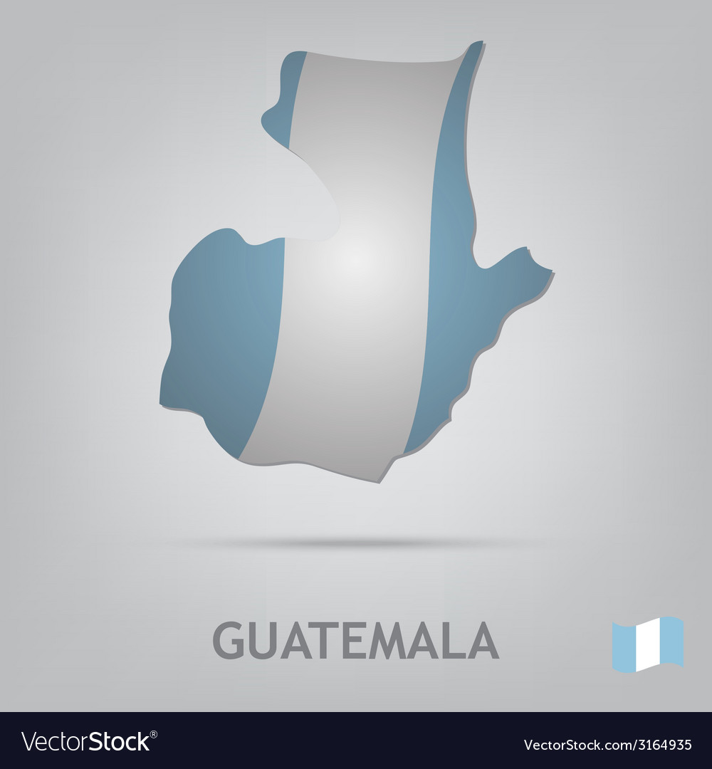 Guatemala vector | Price: 1 Credit (USD $1)