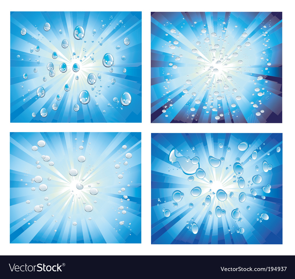 Abstract bubbles background vector | Price: 3 Credit (USD $3)