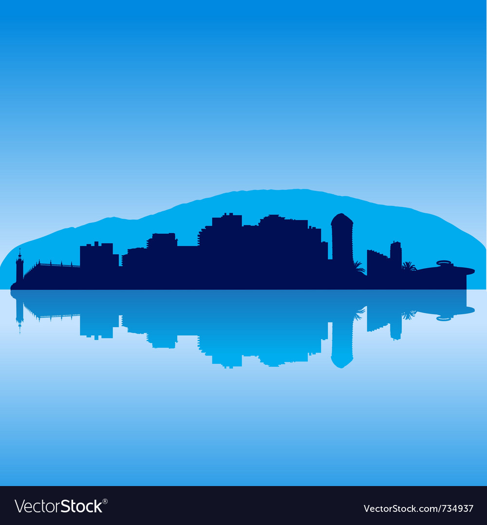 Sochi skyline vector | Price: 1 Credit (USD $1)