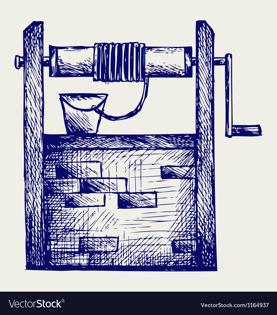 Water well vector | Price: 1 Credit (USD $1)
