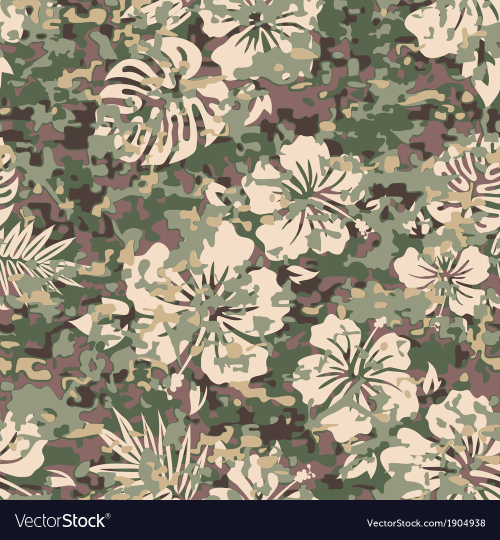 Aloha camo vector | Price: 1 Credit (USD $1)
