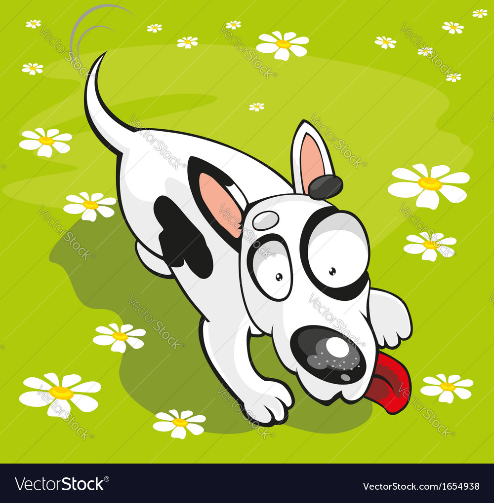 Bull terrier vector | Price: 3 Credit (USD $3)