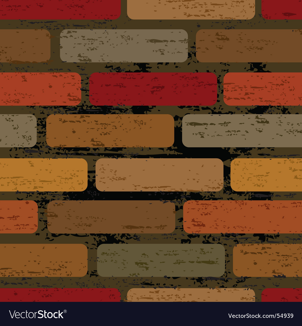 Brick wall pattern vector | Price: 1 Credit (USD $1)