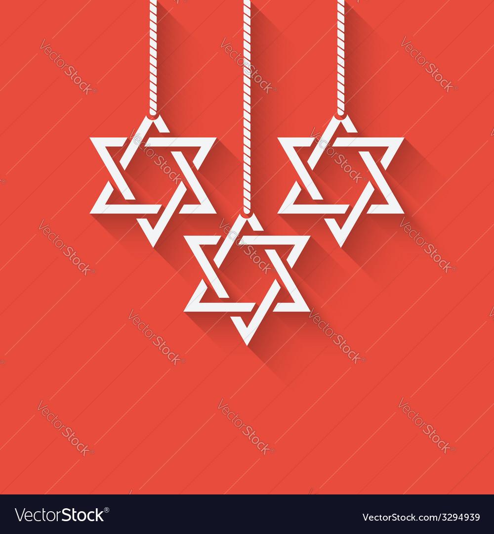 Happy hanukkah background vector | Price: 1 Credit (USD $1)