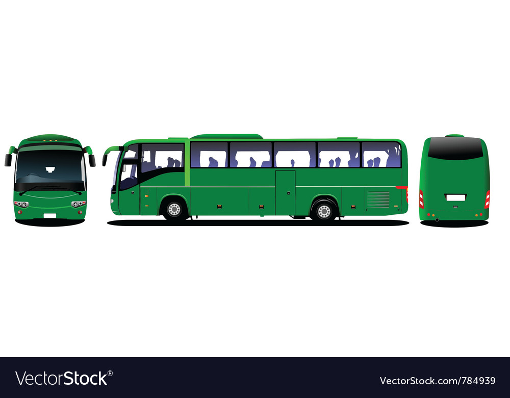 Public bus vector | Price: 1 Credit (USD $1)